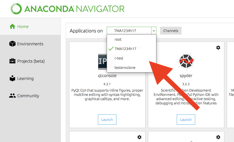How to install and use Anaconda - wiki math ntnu no